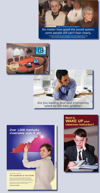 direct mail pieces by Kreski Marketing Consultants