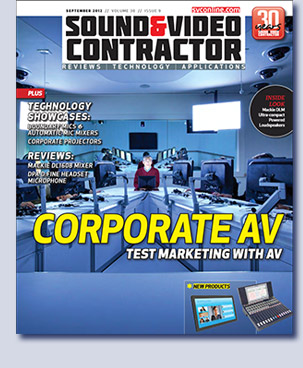 Cover story in Sound & Communications by Don Kreski